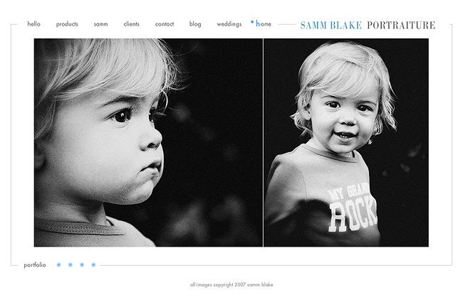 samm blake portraiture